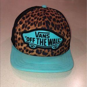 VANS Woman's Cheetah Hat